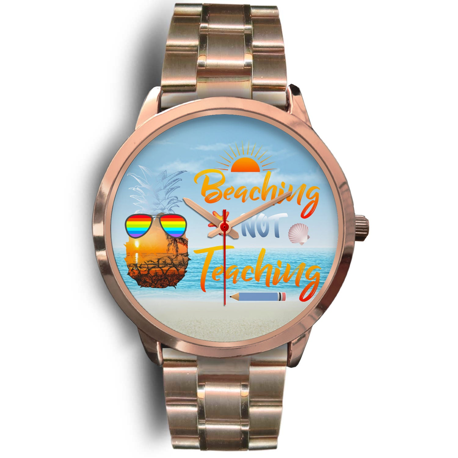 VIRA summer stainless steel watch for awesome teachers