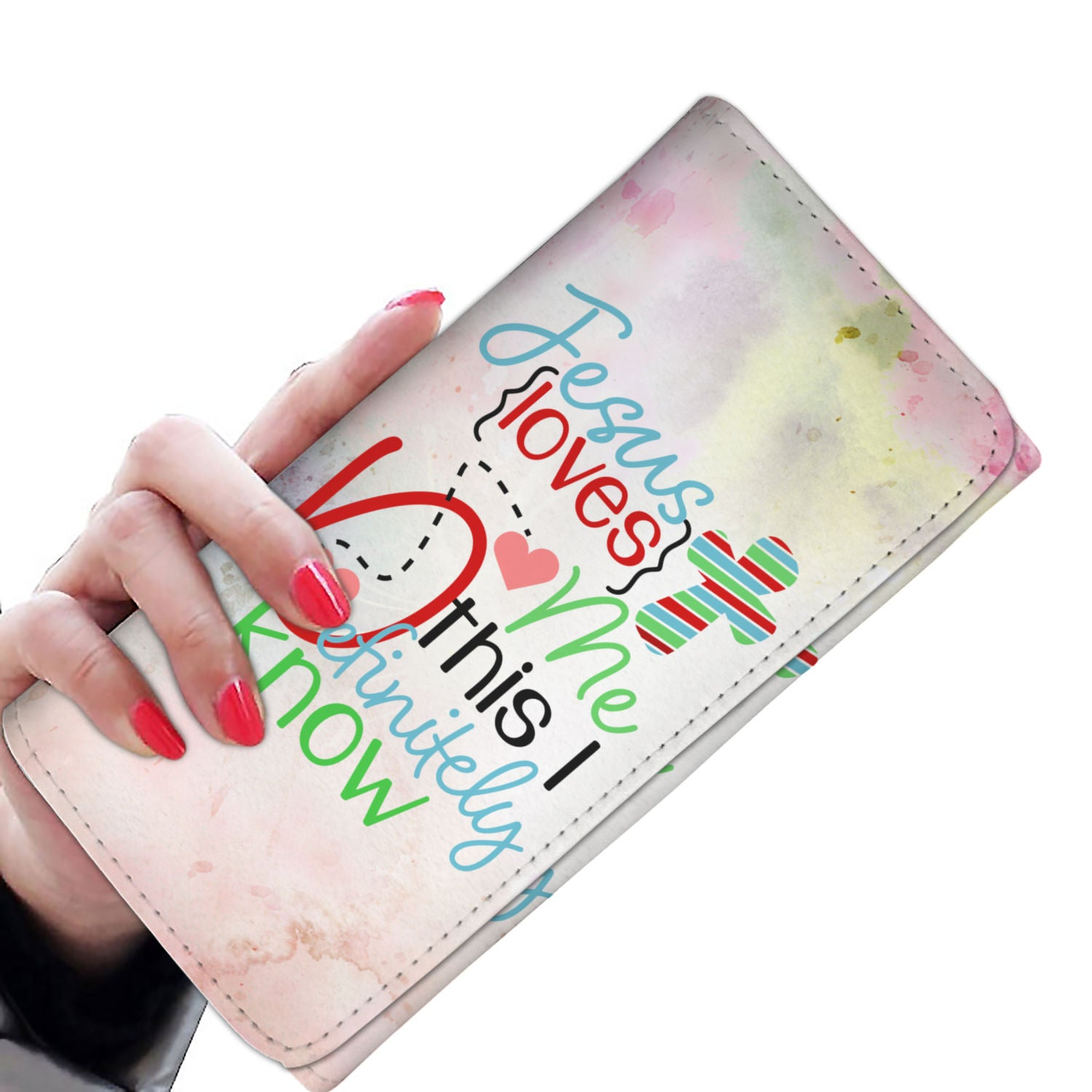 VIRA Awesome Womens Wallet For Jesus Lovers