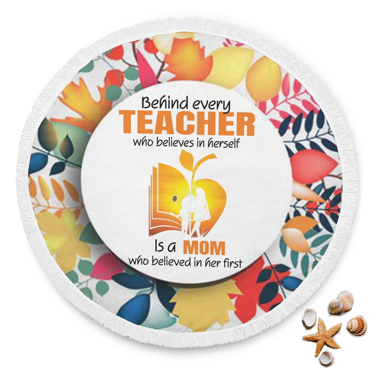 VIRA beach blanket for awesome teachers