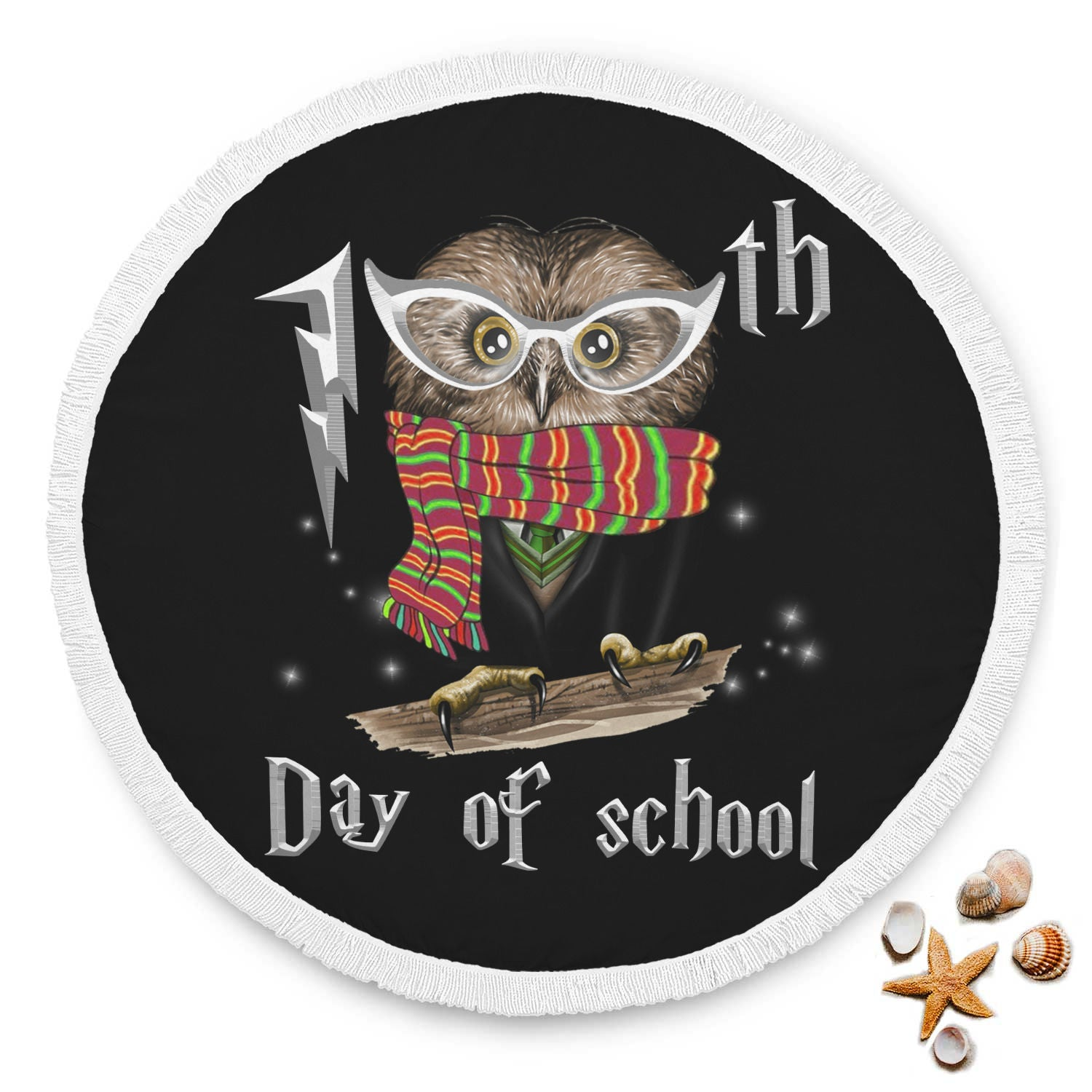 VIRA cool owl beach blanket for awesome teachers