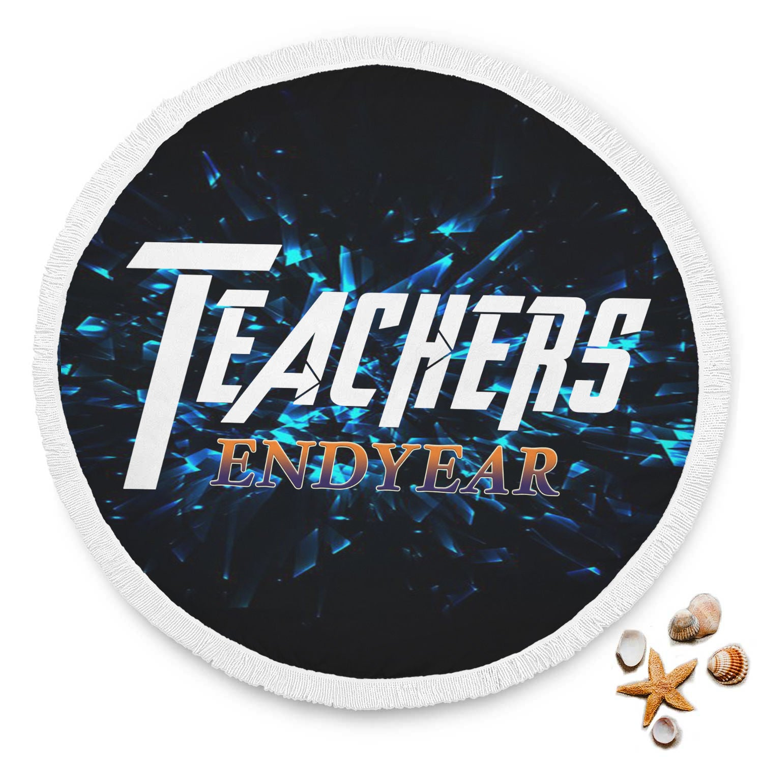 VIRA endyear beach blanket for awesome teachers