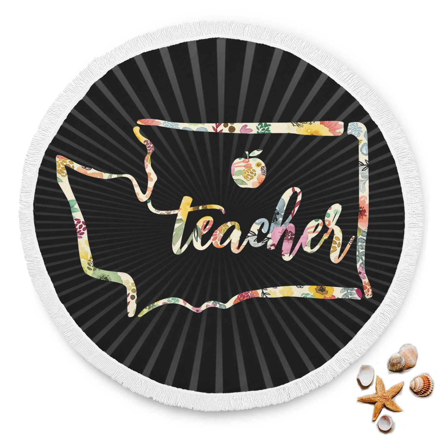 VIRA washington state map for awesome teachers