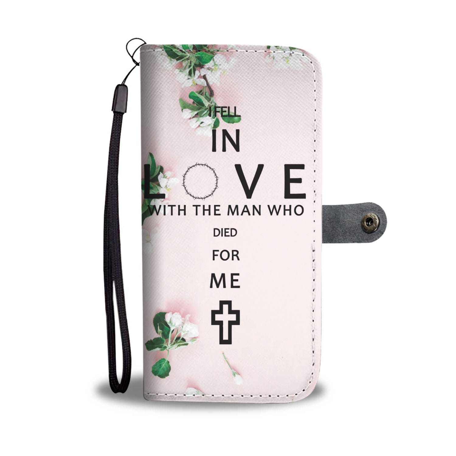 VIRA Leather-like Wallet Case For Jesus Lovers
