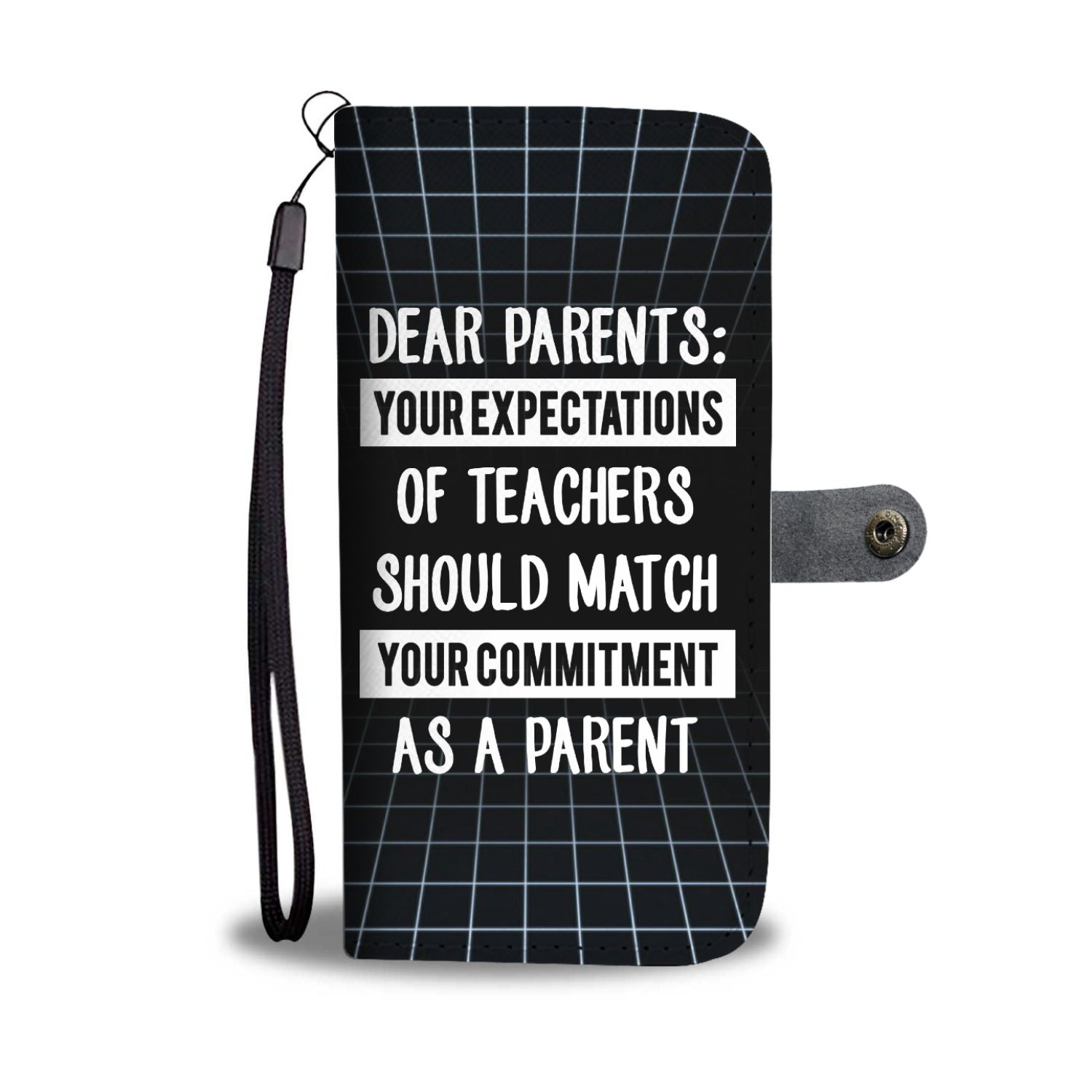 VIRA leather- like wallet case for awesome teachers