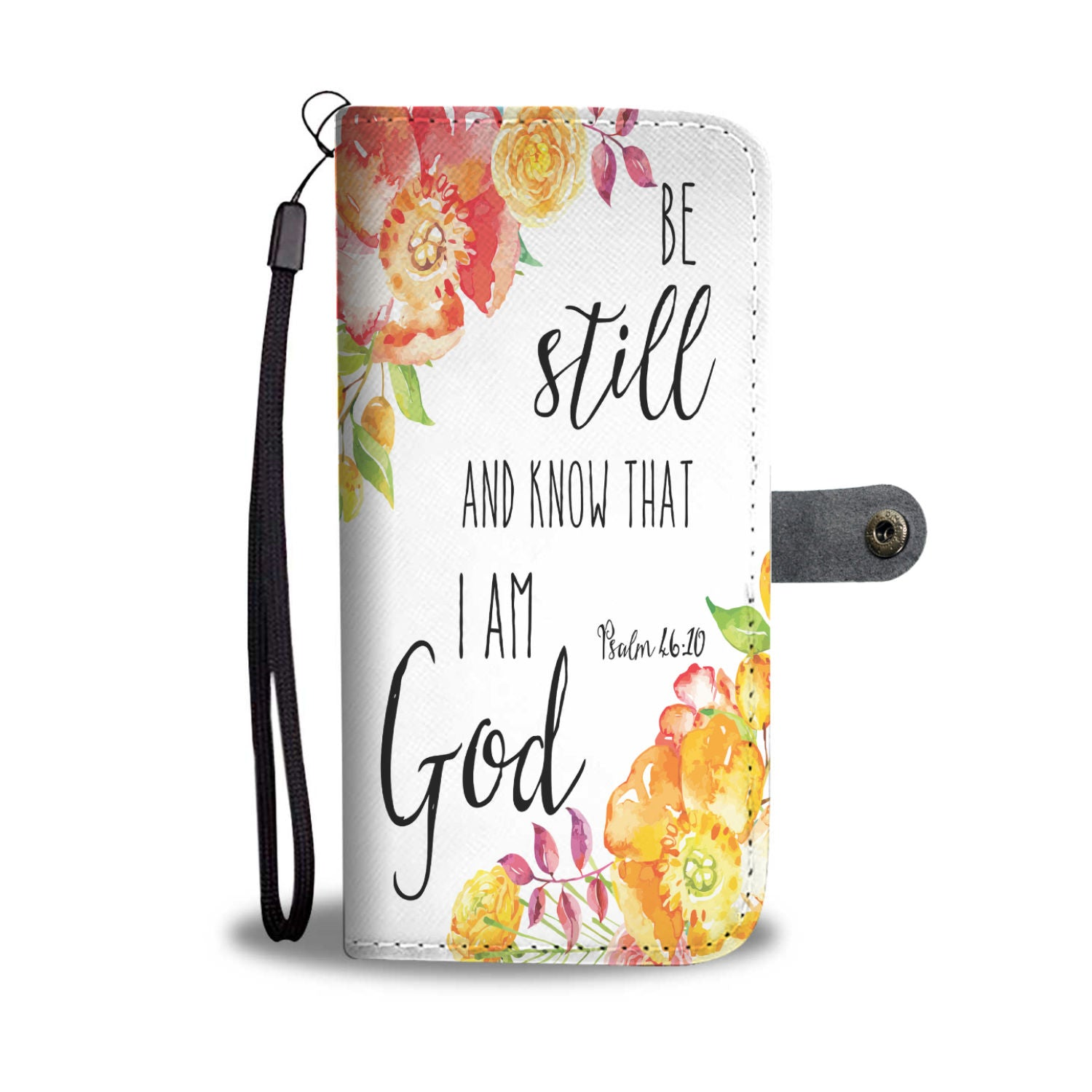 VIRA Awesome Leather-like Wallet Case For God Lovers