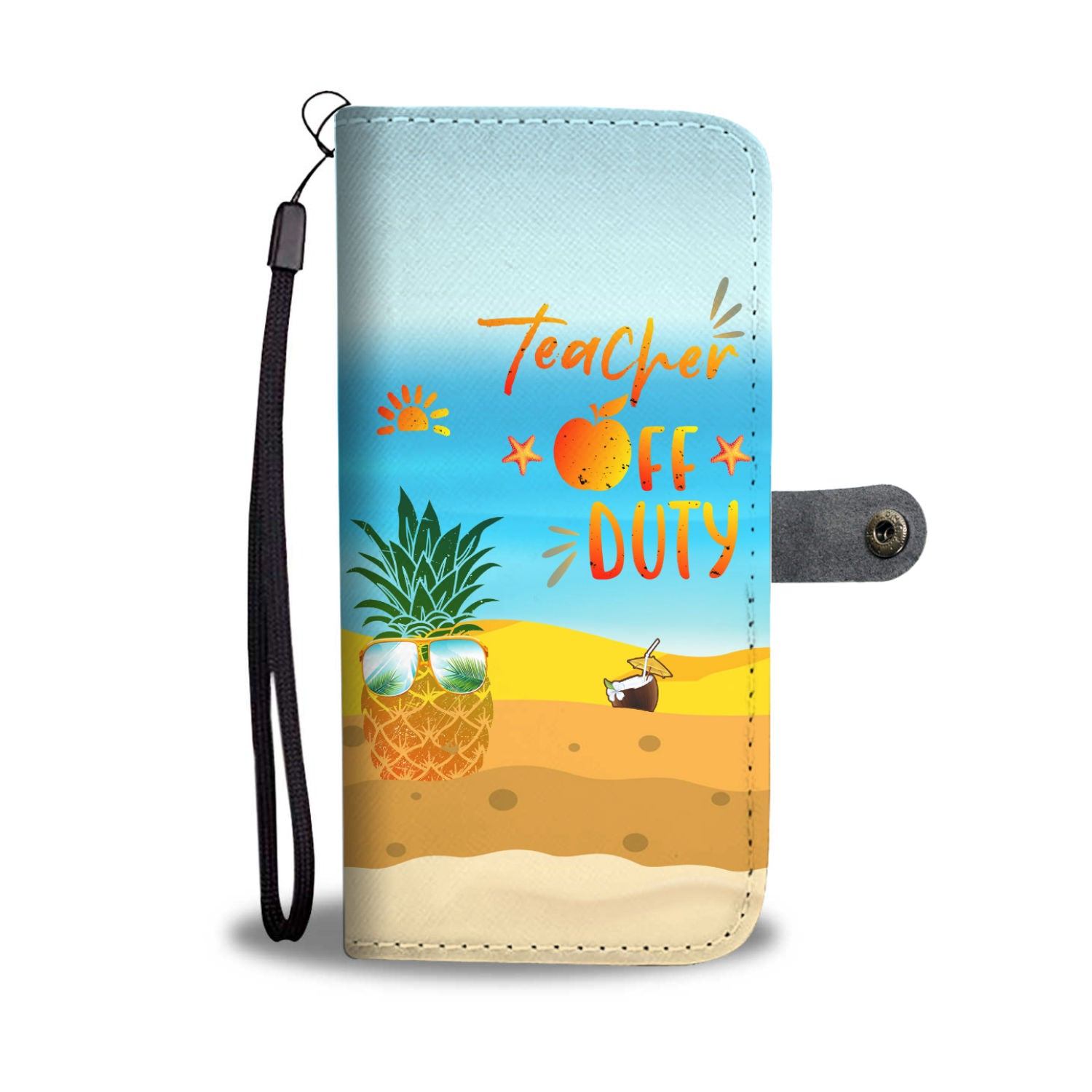 VIRA summer leather- like wallet case for awesome teachers