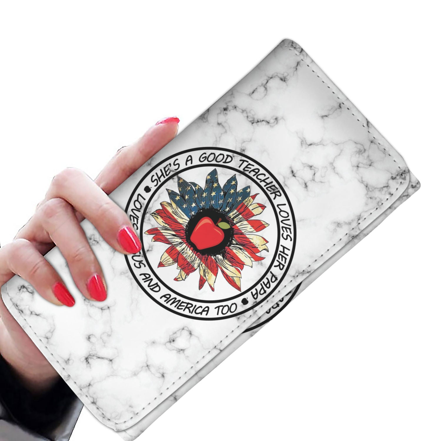 VIRA women's wallet for awesome teachers