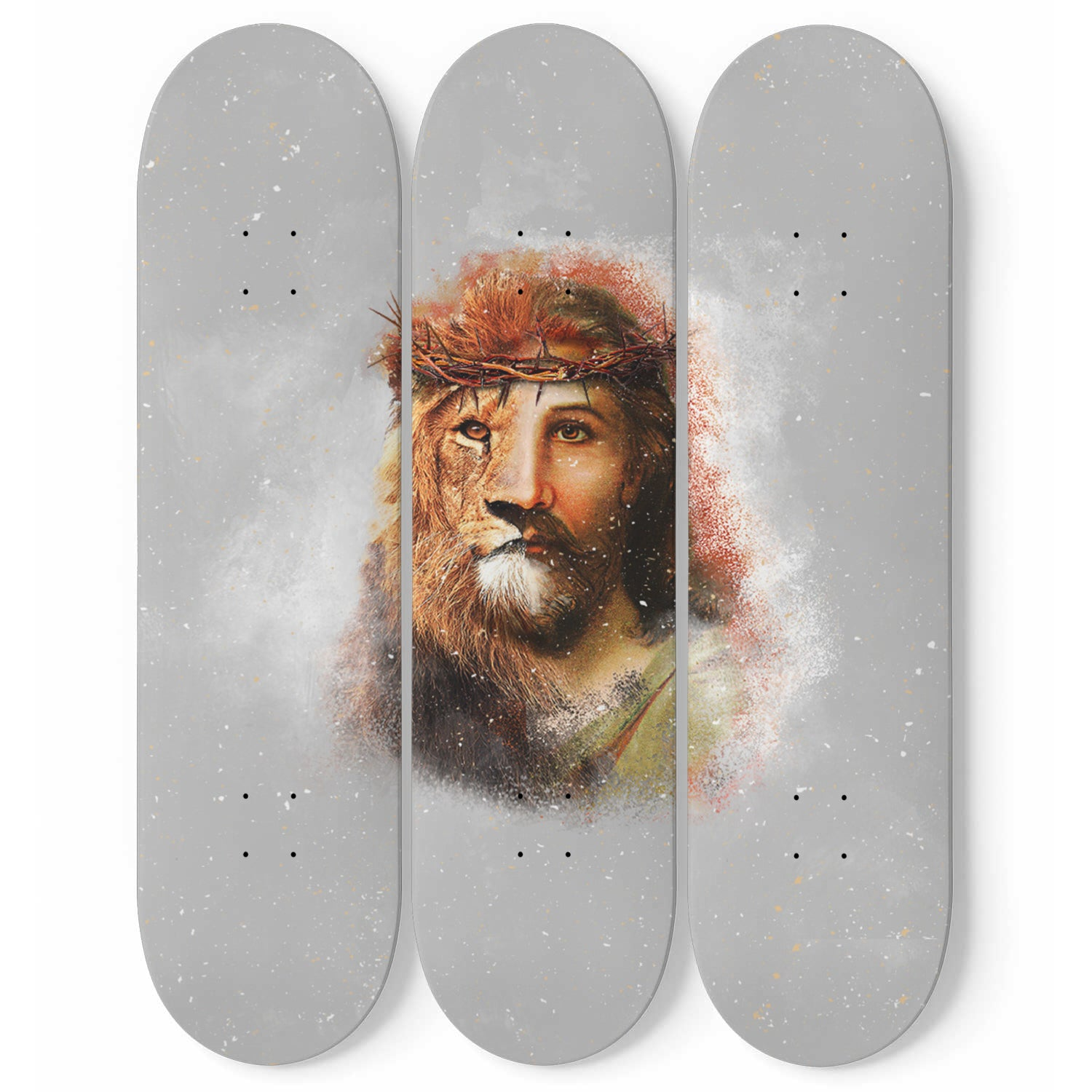 VIRA Awesome 3 Skateboard Wall Art For Jesus Lovers