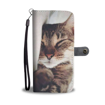 PERSONALIZED WALLET CASE - UPLOAD YOUR BELOVED CAT PHOTOS