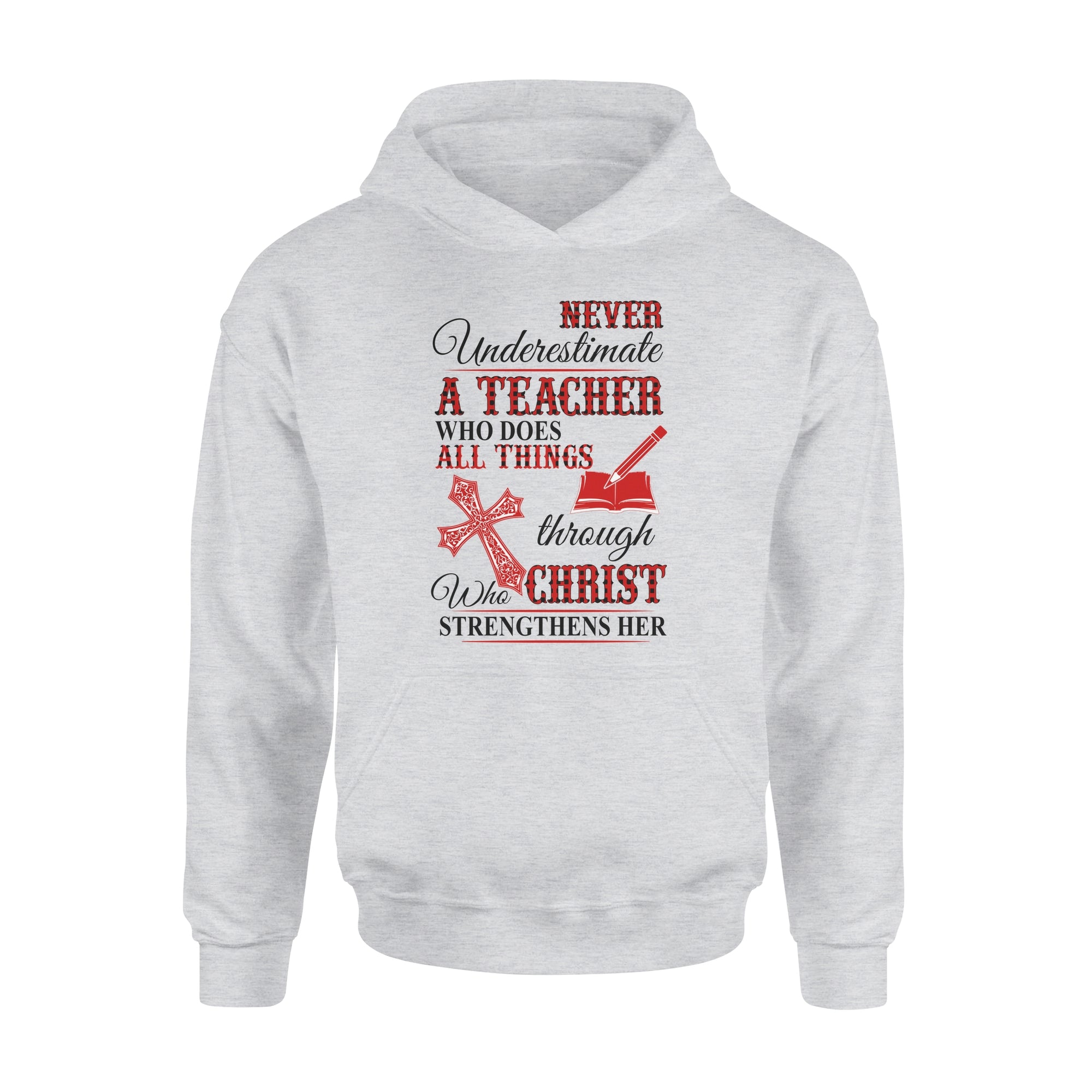 VIRA Premium Hoodie For Jesus Lovers & Awesome Teachers