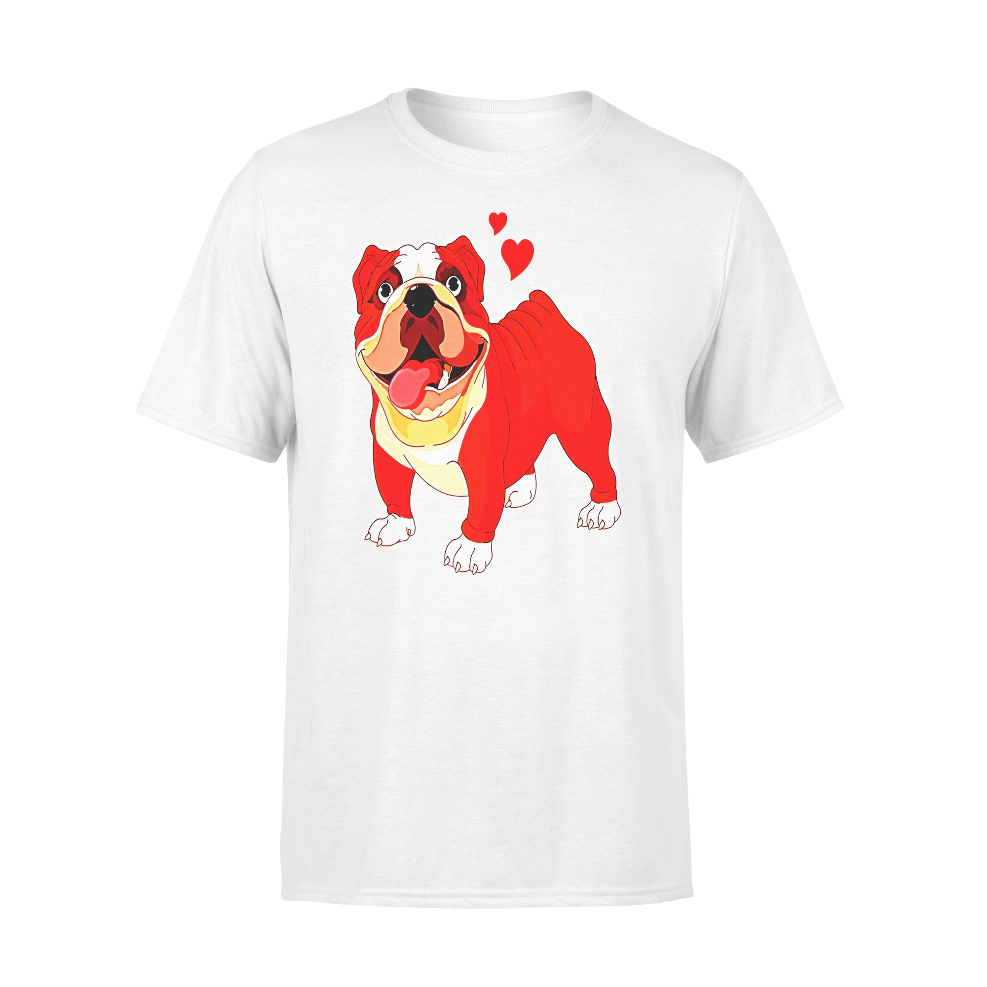 VIRA Premium Tee For Bulldog Lovers