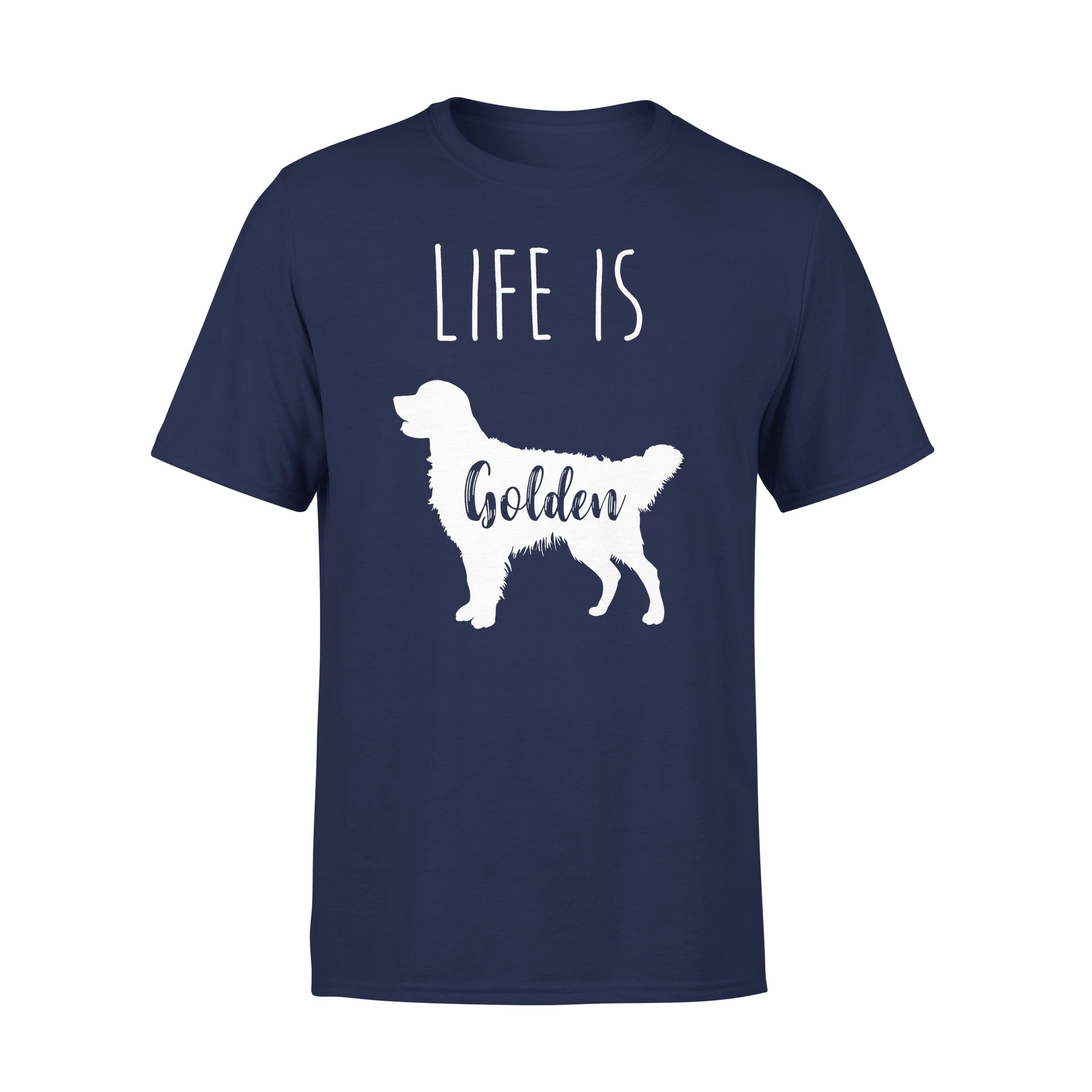 VIRA Premium Tee For Golden Retriever  Lovers