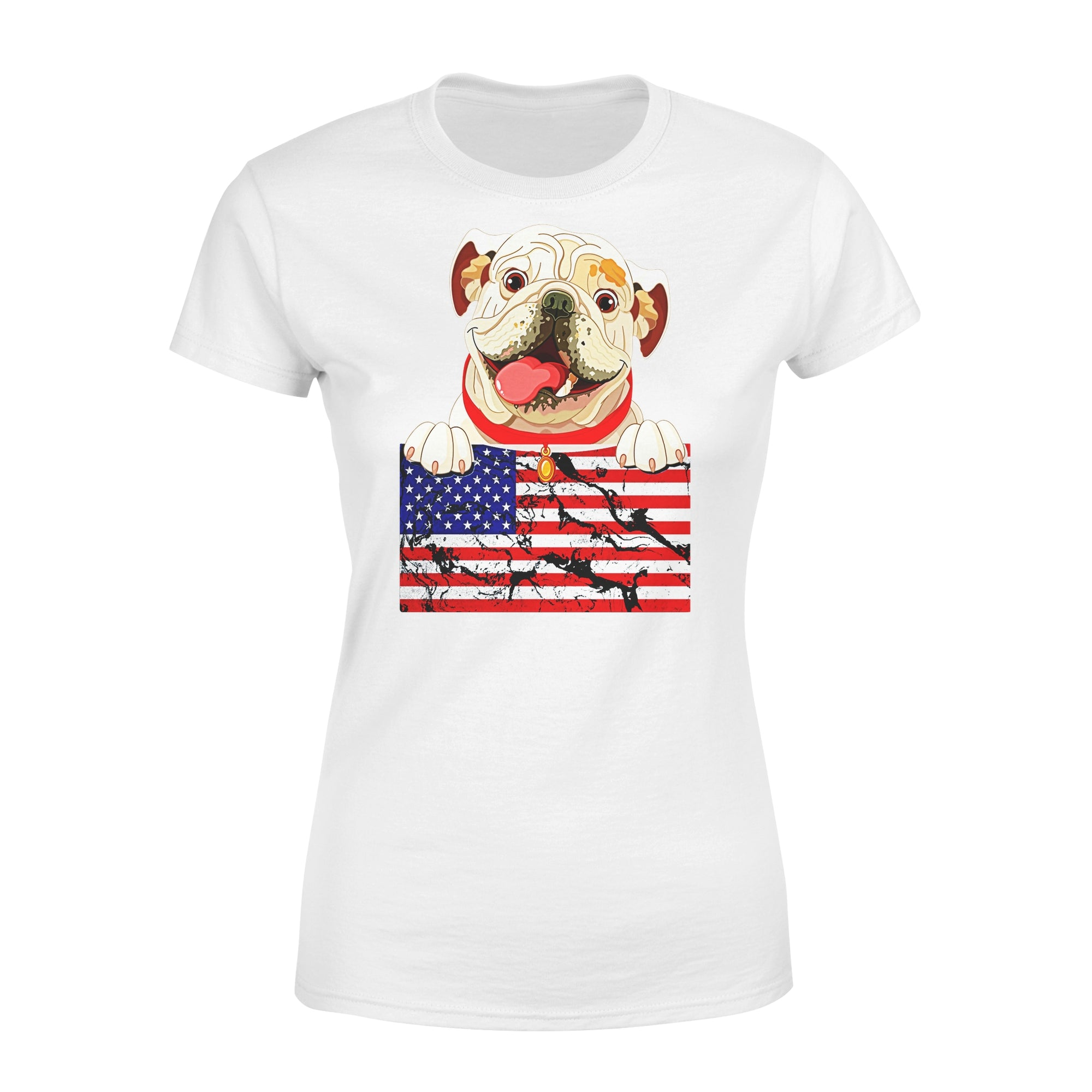 VIRA Premium Women's Tee For Bulldog Lovers