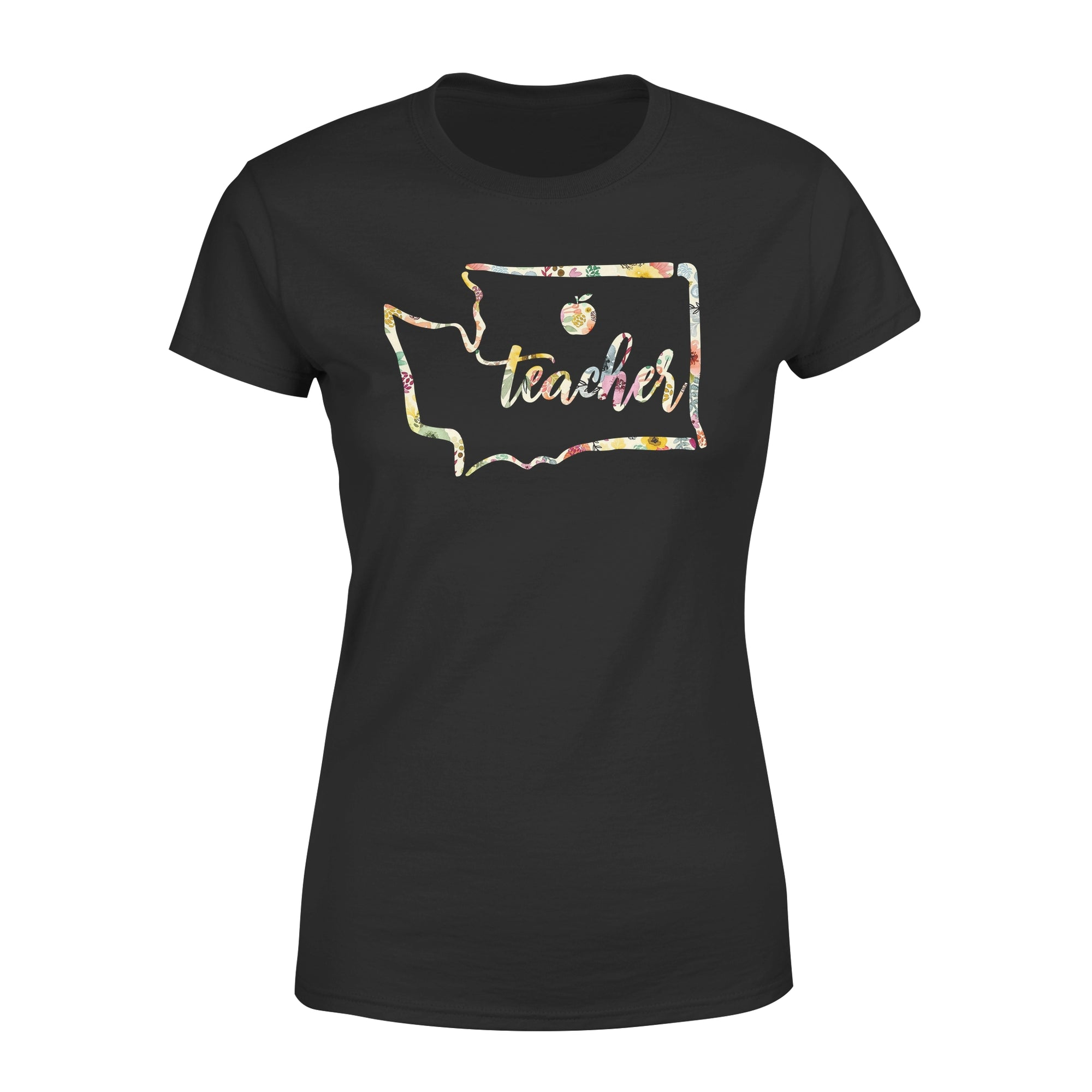 VIRA washington state map Premium Women's Tee for awesome teachers