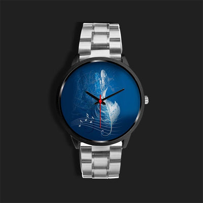 Feather Treble Stainless Steel Watch For Awesome Teachers