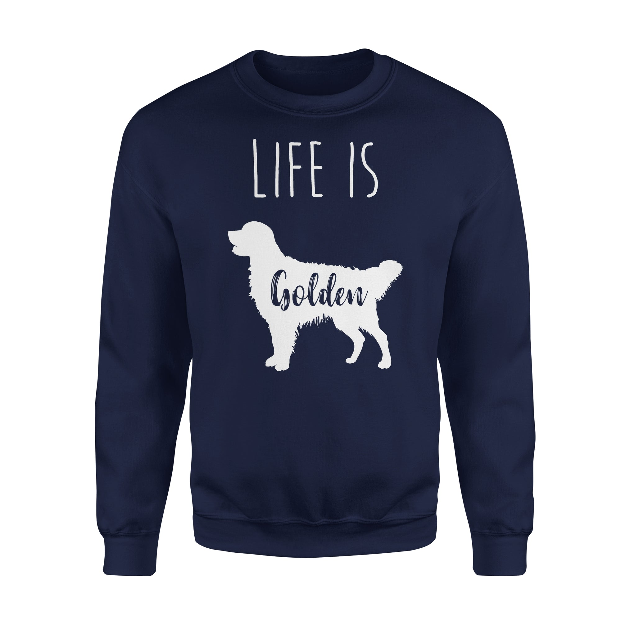VIRA Premium Fleece Sweatshirt For Golden Retriever  Lovers