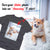 PERSONALIZED unisex t-shirt - upload your  SHIBA photos