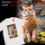 PERSONALIZED T-SHIRT - UPLOAD YOUR  BELOVED CAT PHOTO