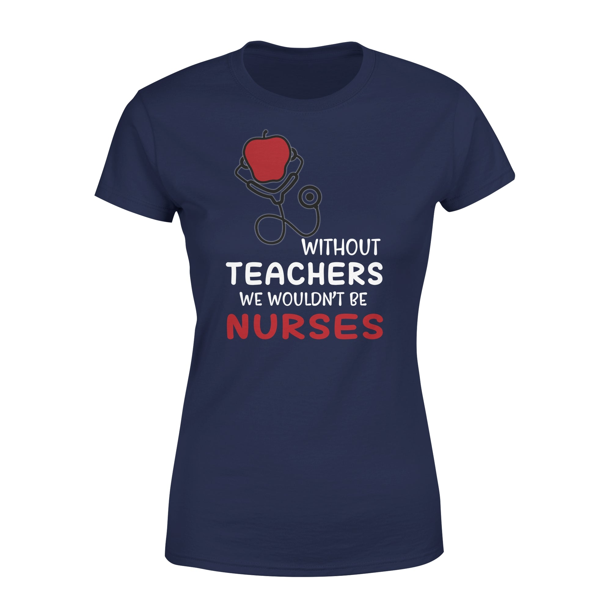 VIRA Premium Women's Tee for awesome teachers & nurses