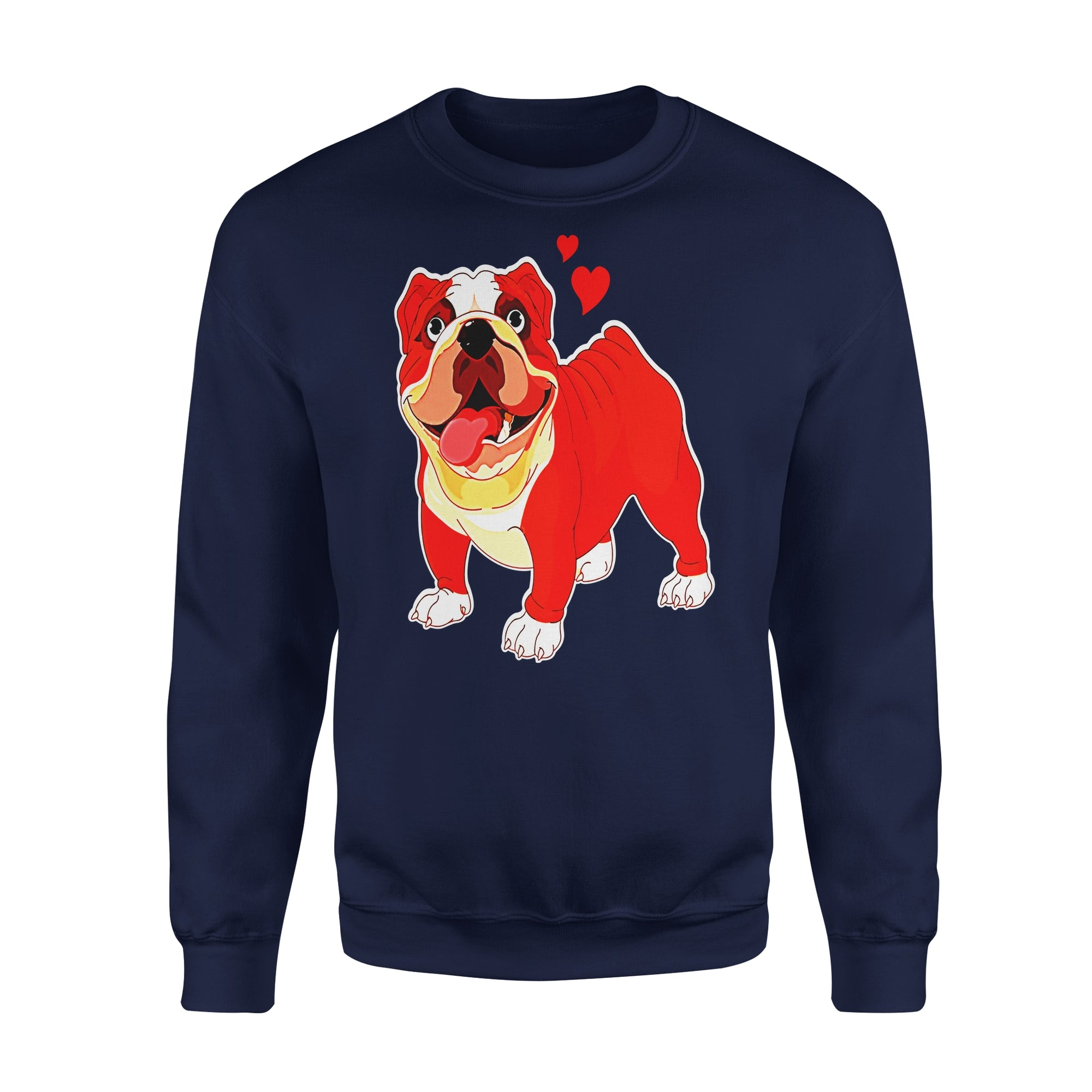 VIRA Premium Fleece Sweatshirt For Bulldog Lovers