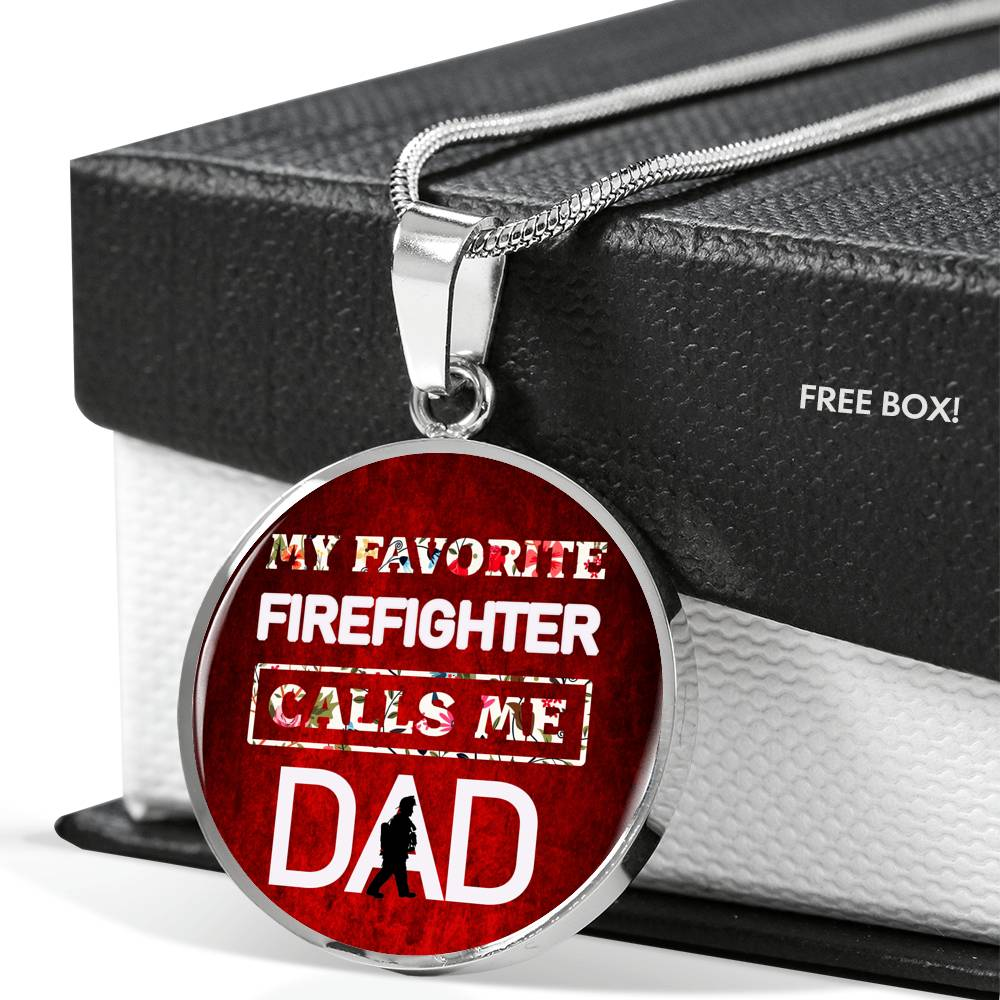 Vira Best-seller Luxury Necklace for firefighter dad