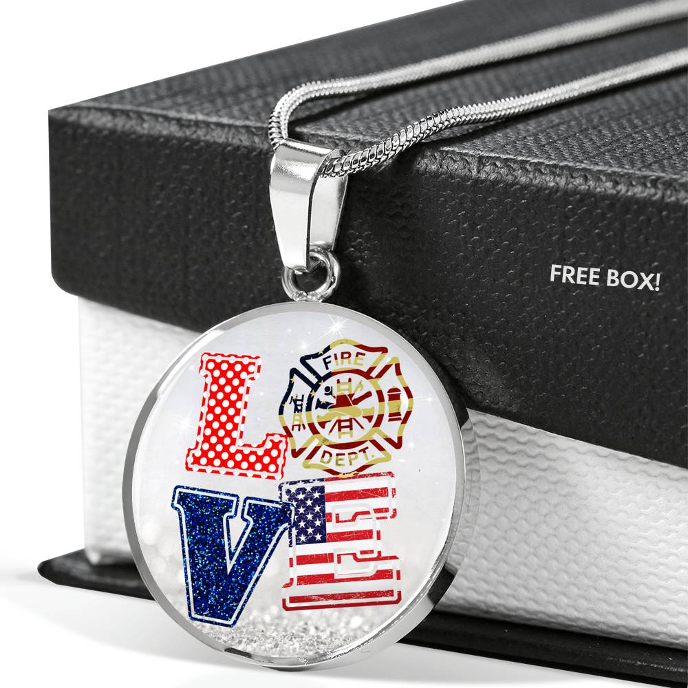 Vira Best-seller Luxury Necklace for firefighter lovers