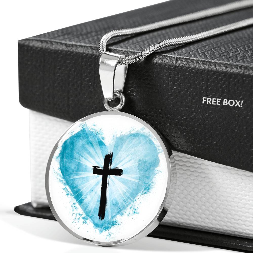 VIRA Awesome Circle Luxury Necklace For Jesus Lovers