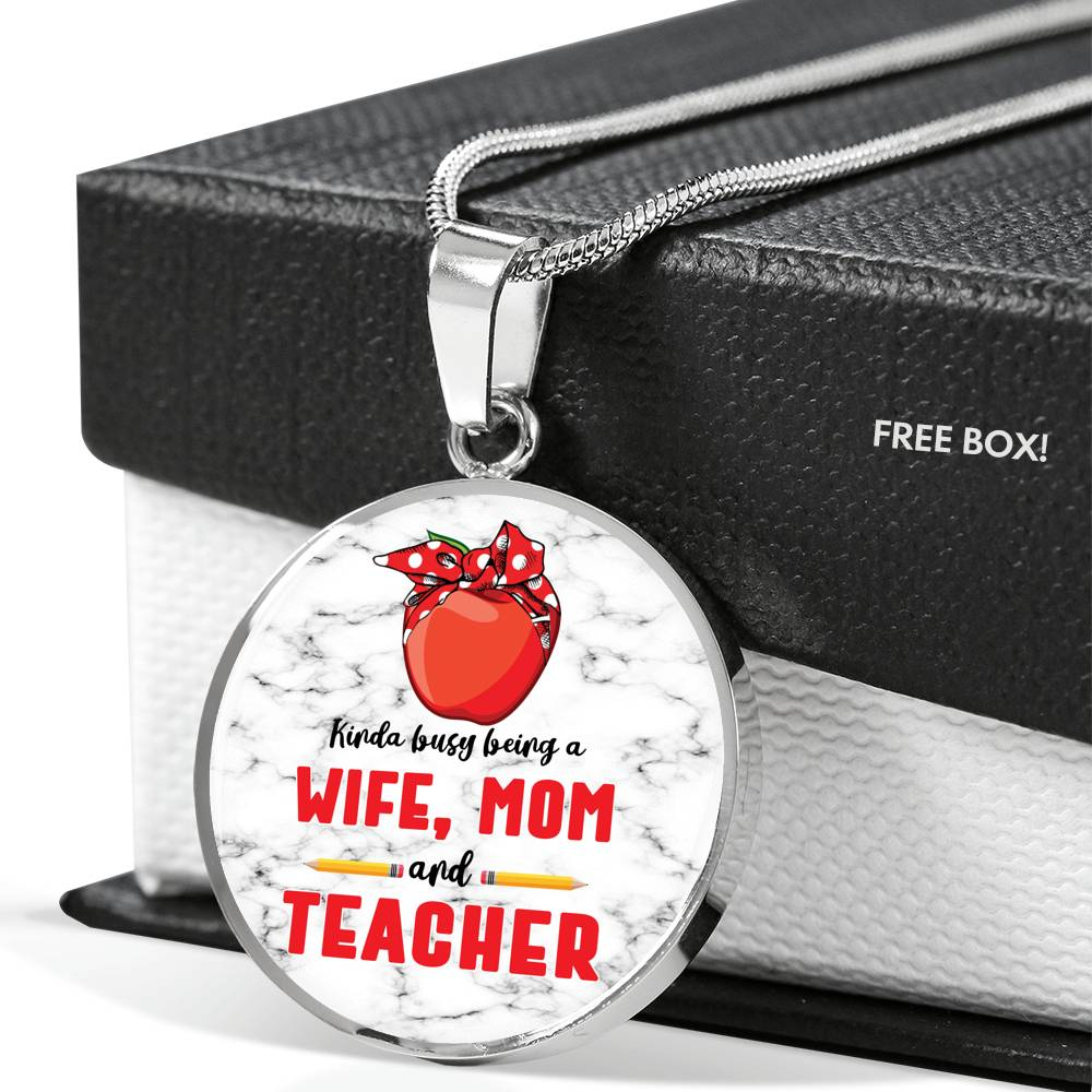 VIRA luxury necklace for awesome teachers & moms
