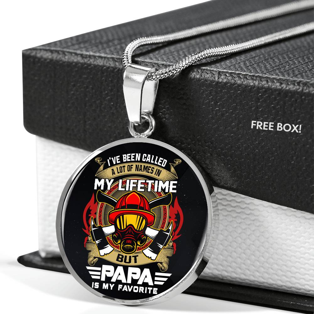 Vira Best-seller Luxury Necklace for firefighter papa