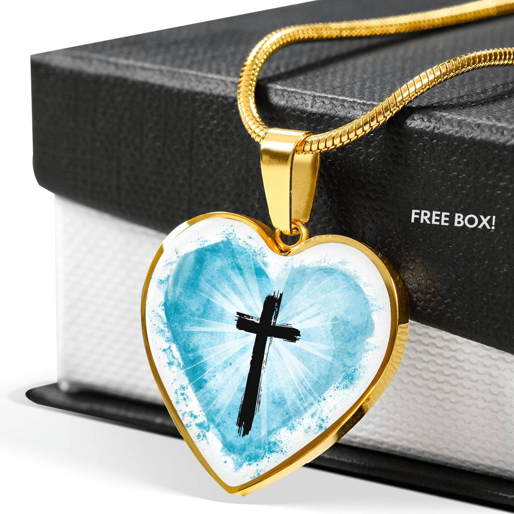 VIRA Best-seller Heart-Luxury Necklace For Jesus Lovers