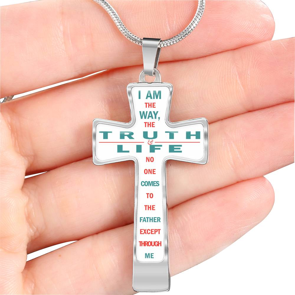 VIRA I am the way,the truth and the life Cross Luxury Necklace