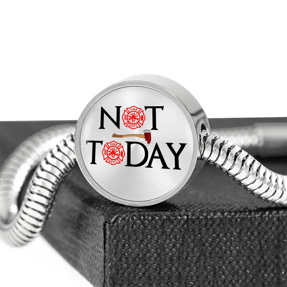 Vira awesome Bracelet & Charm Not Today