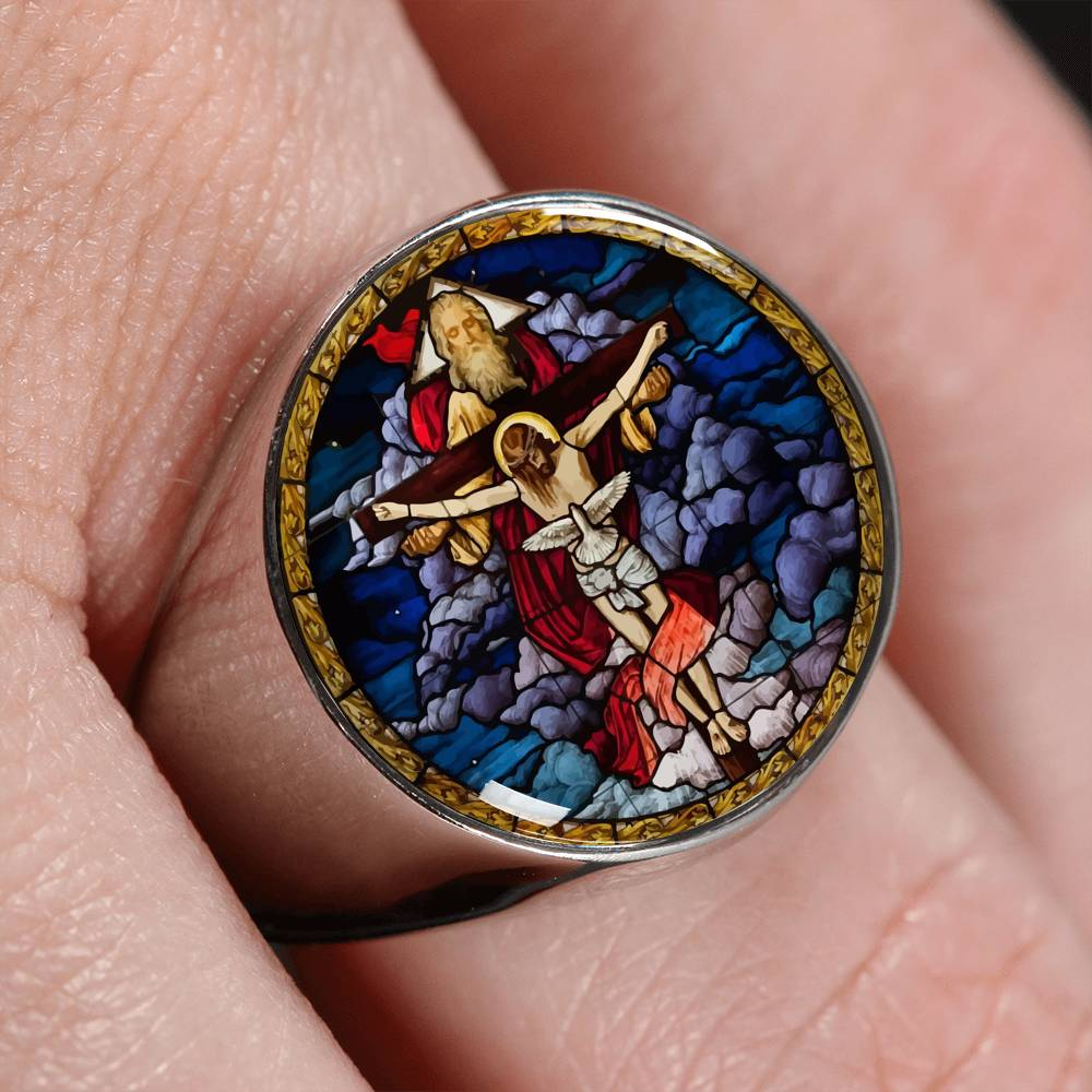 VIRA Best-seller Signet Ring For Jesus Lovers