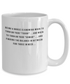 Being A Nurse Mug - Awesome Mug Gift For Great Nurse
