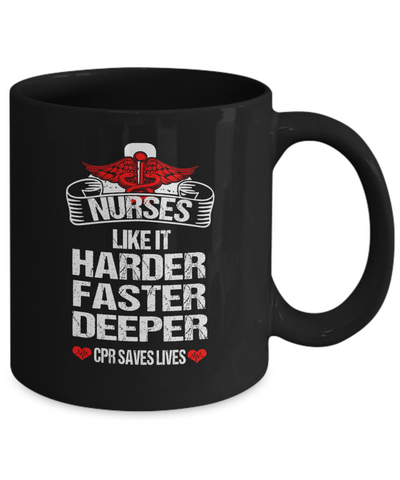CPR Saves Lives - Awesome Mug For Great Nurses