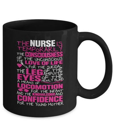 The Nurse - Awesome Mug For Great Nurses