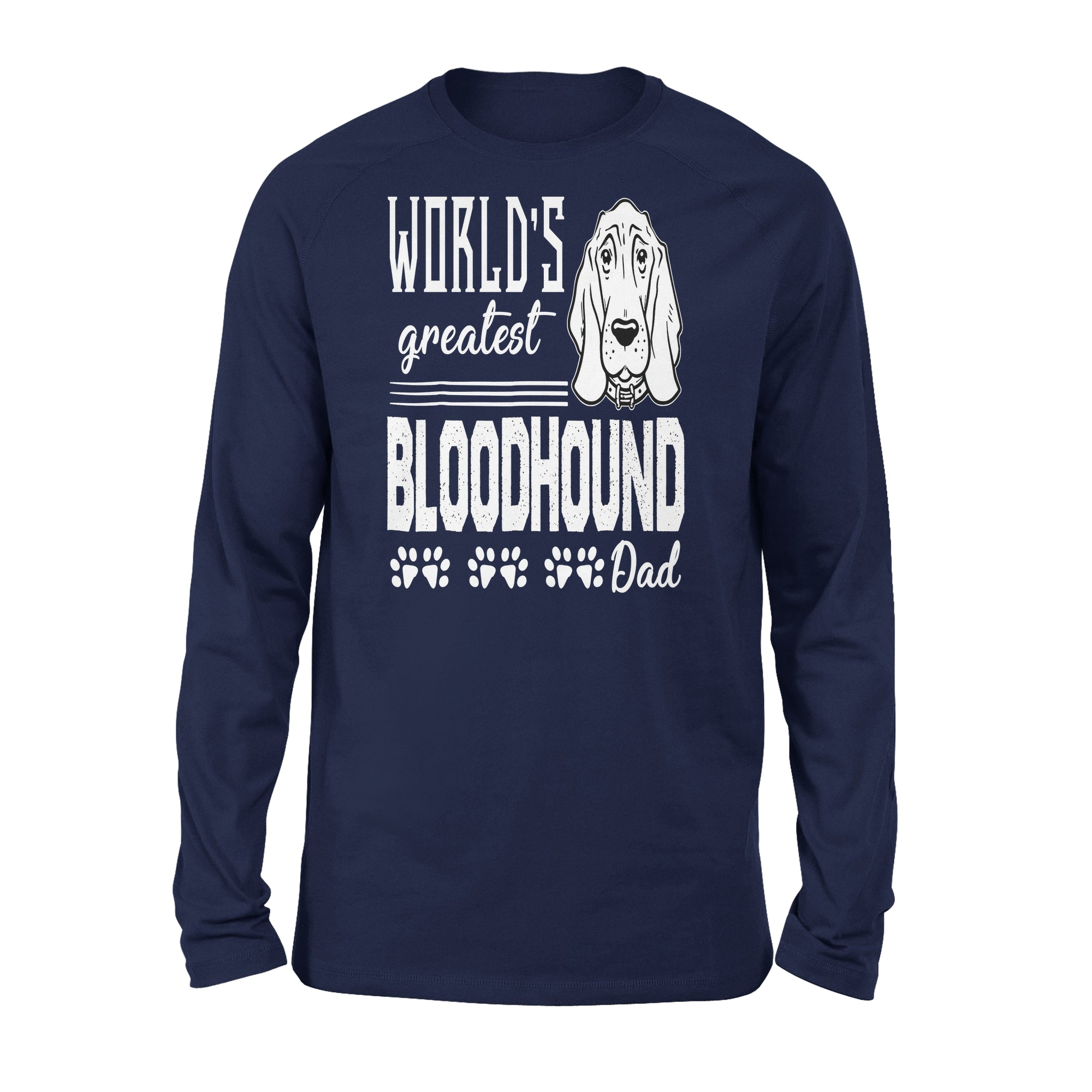 VIRA Premium Long Sleeve For Bloodhound Lovers