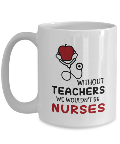 VIRA Ceramic Mug For Awesome Teachers & Nurses
