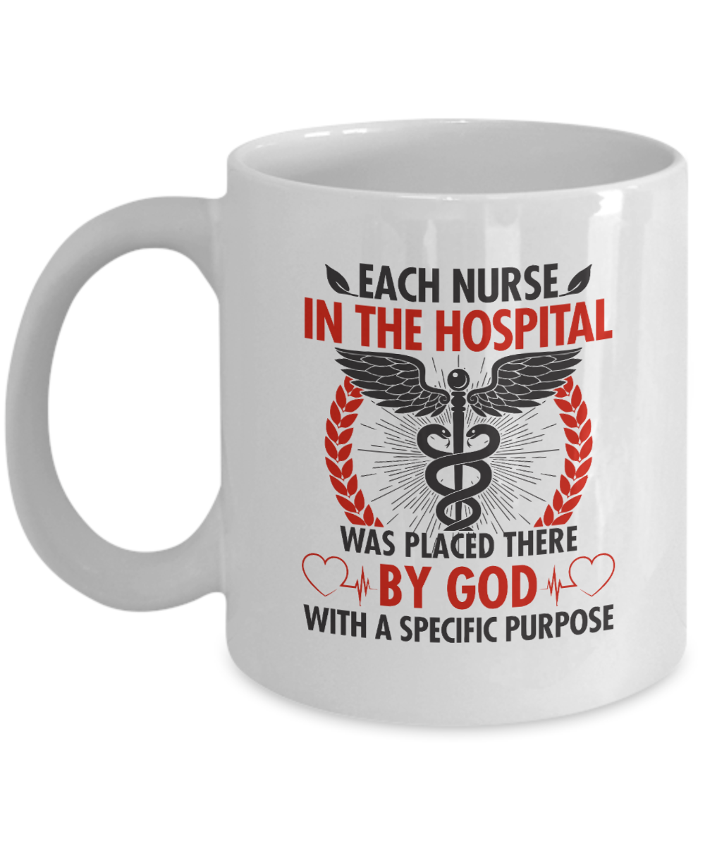 VIRA Awesome Mug For God Lovers & Great Nurses