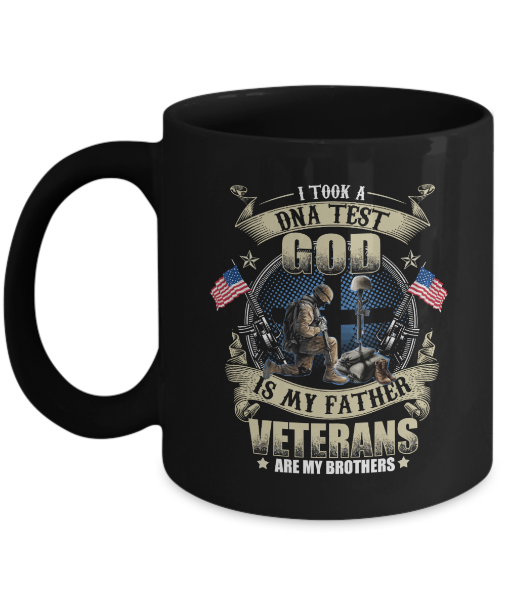 VIRA Awesome Mug For God Lovers & Great Veterans