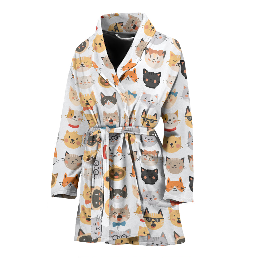 Comic Cat Bath Robe