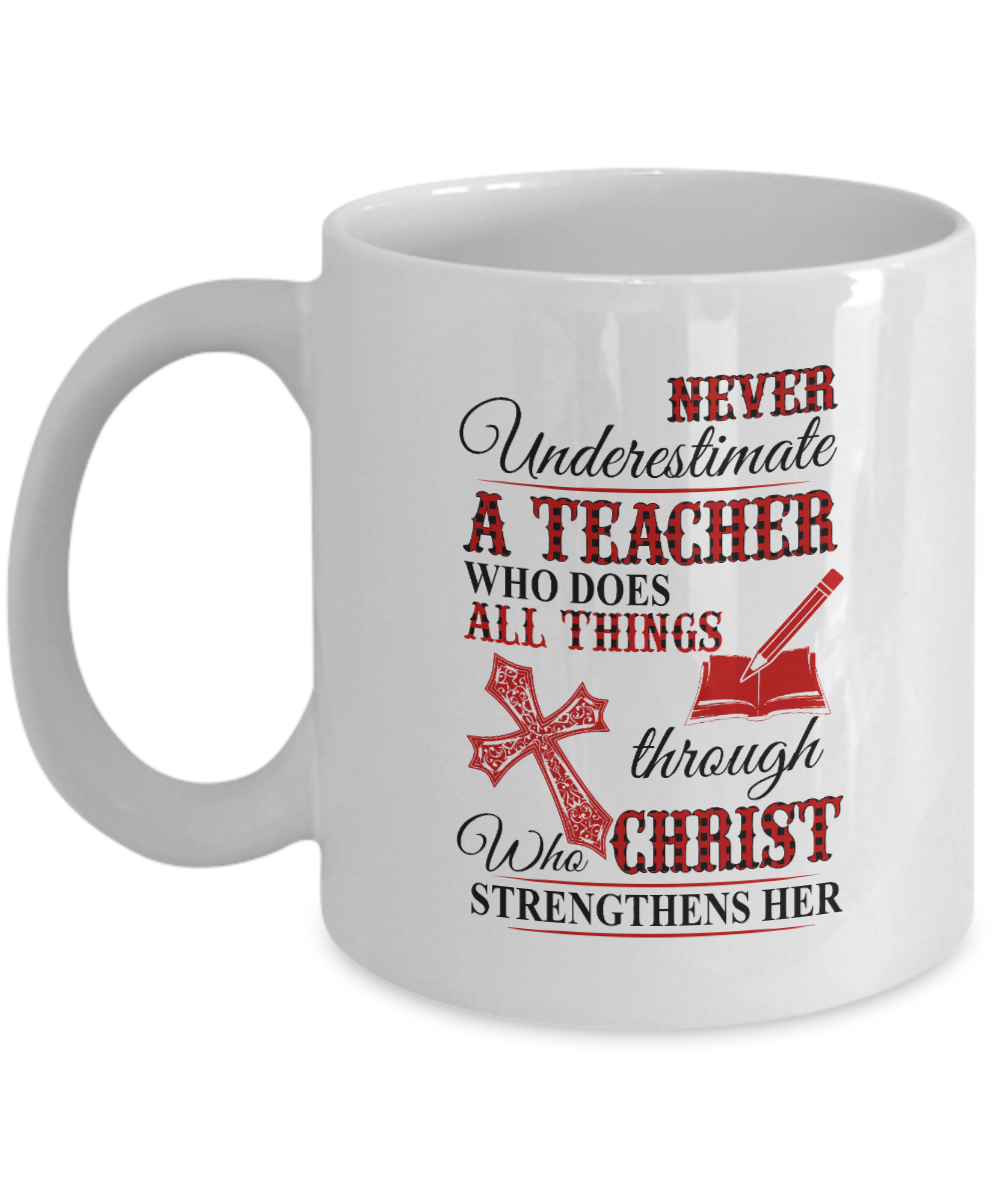 VIRA Awesome Mug For Jesus Lovers & Great Teachers