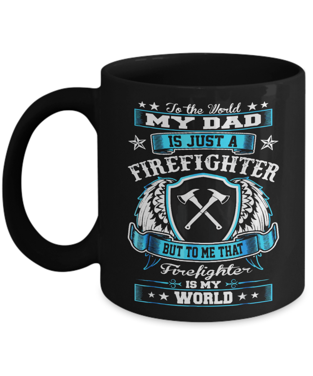 VIRA CERAMIC MUG FOR the best firefighter dad