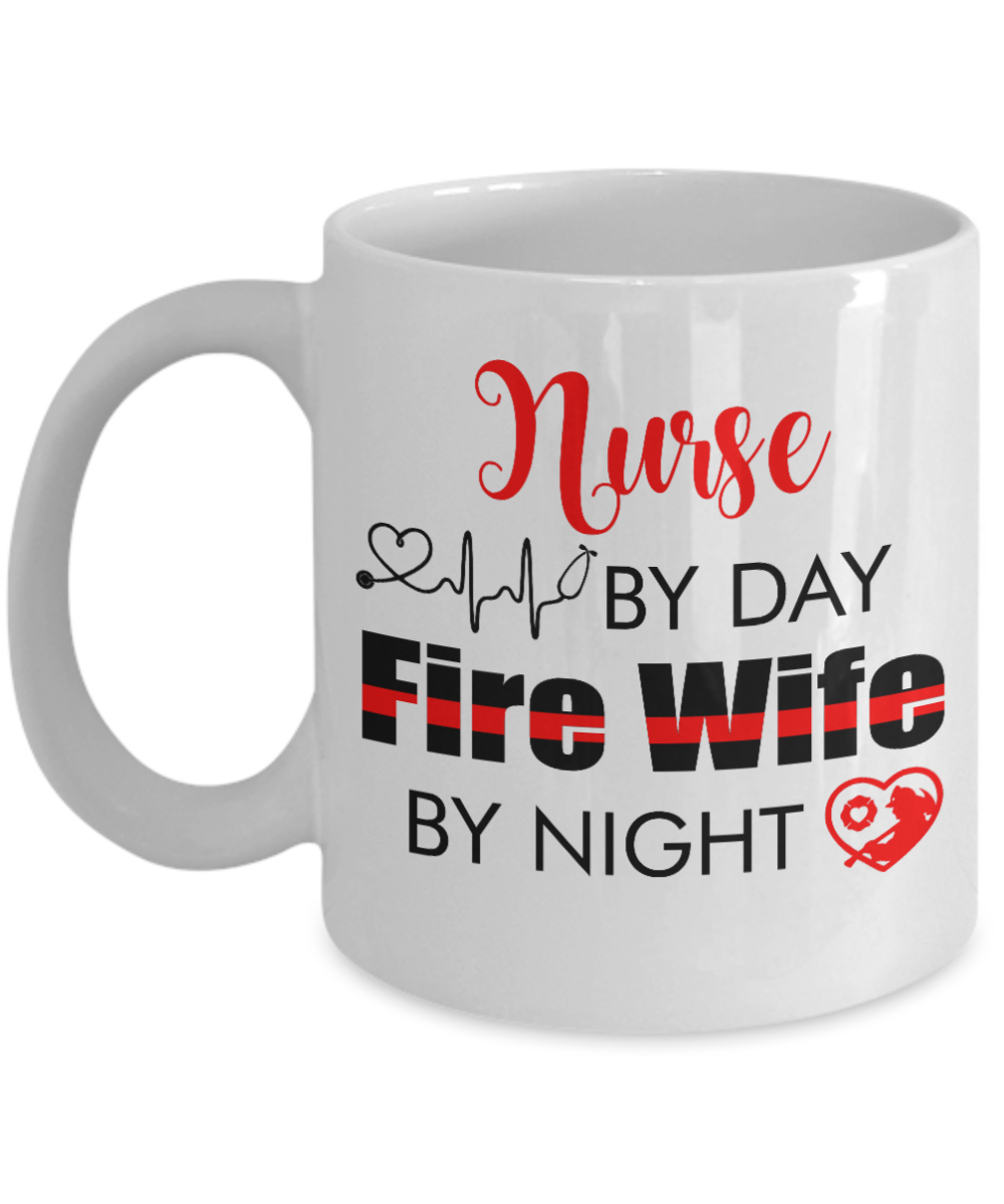 VIRA CERAMIC MUG FOR FIREwife and nurse wife