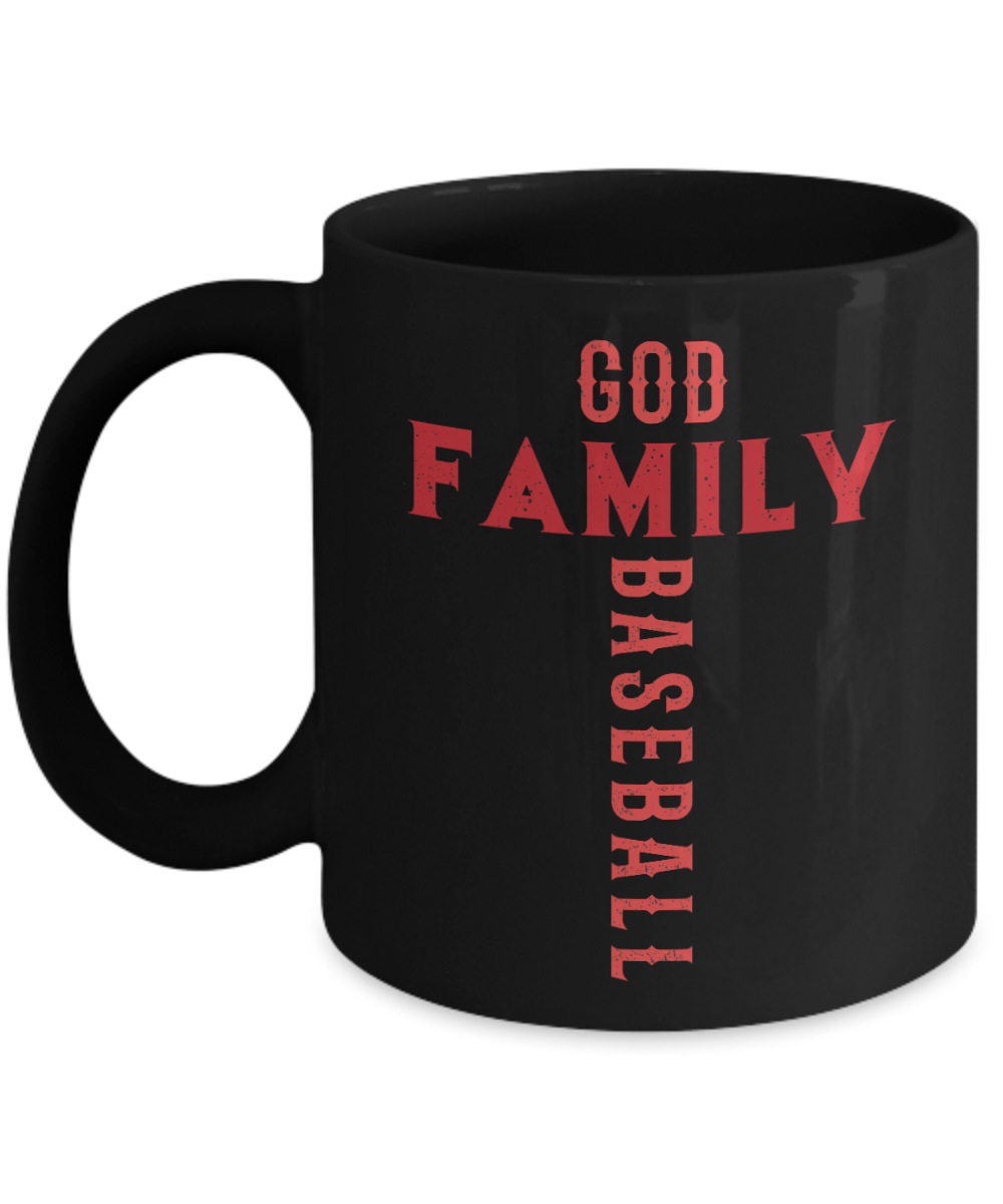 VIRA Mug For God Lovers & Great Baseball