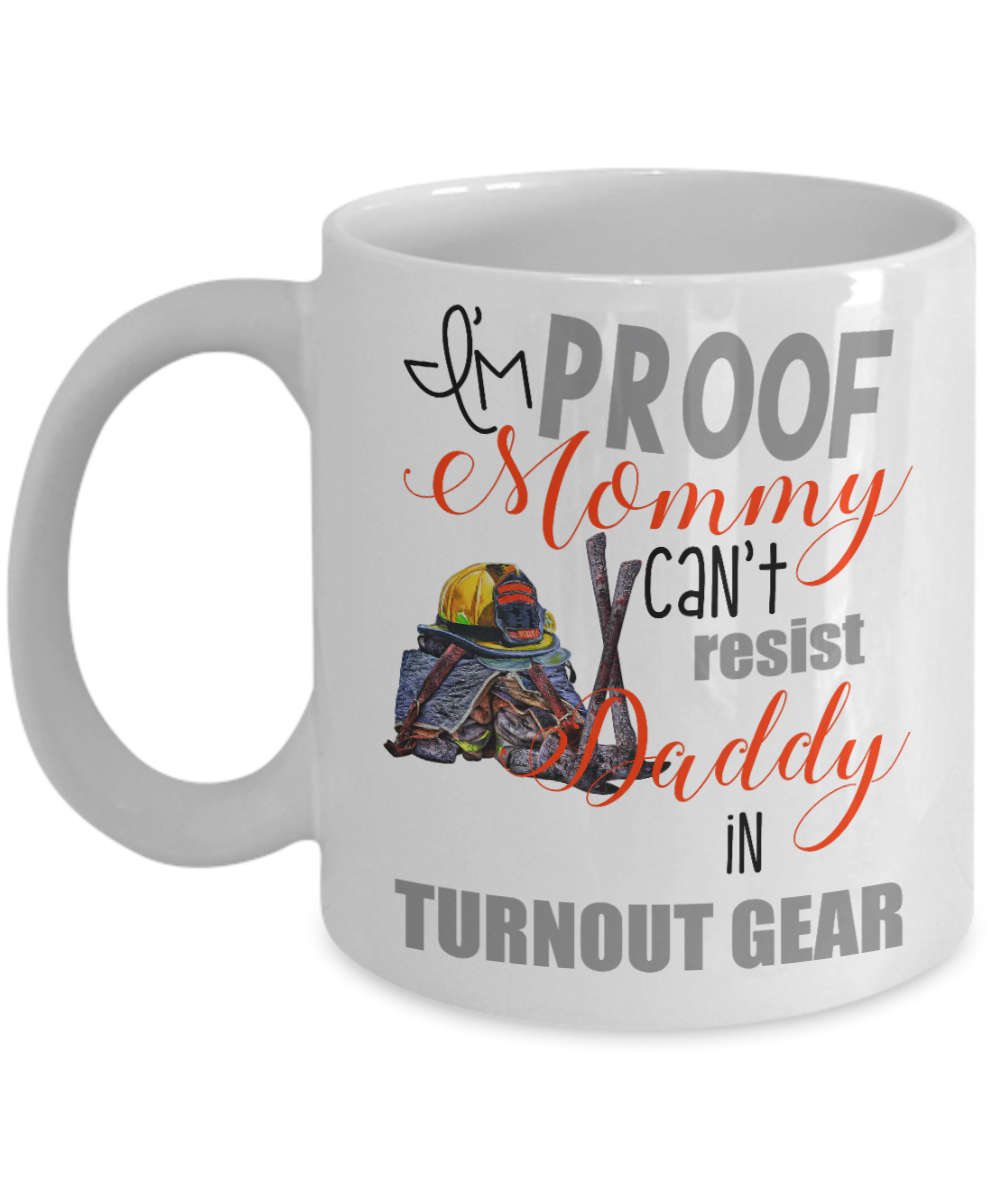 VIRA CERAMIC MUG FOR FIREFIGHTER MOMmy daddy