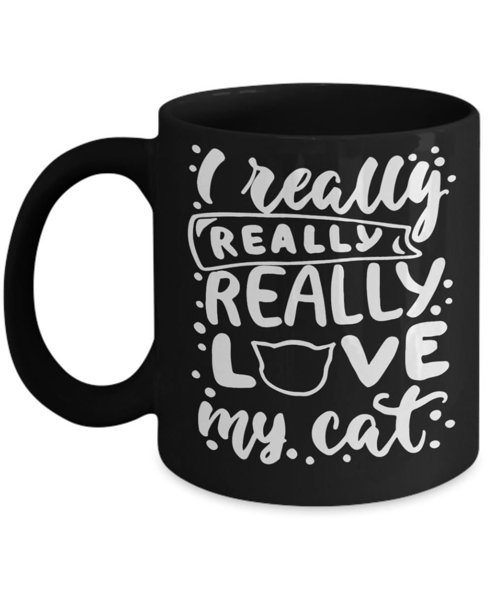 VIRA CERAMIC MUG FOR cat lovers