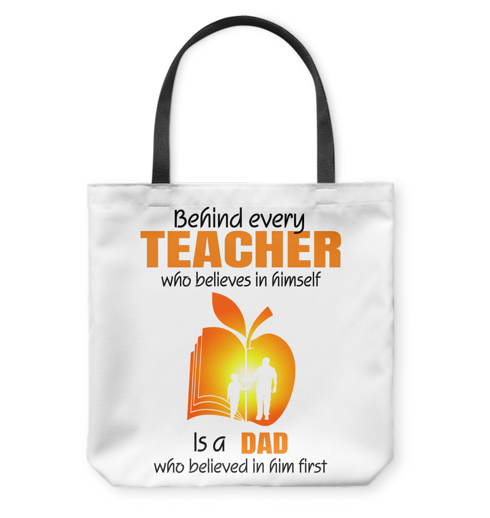 VIRA tote bag for awesome teachers & dads