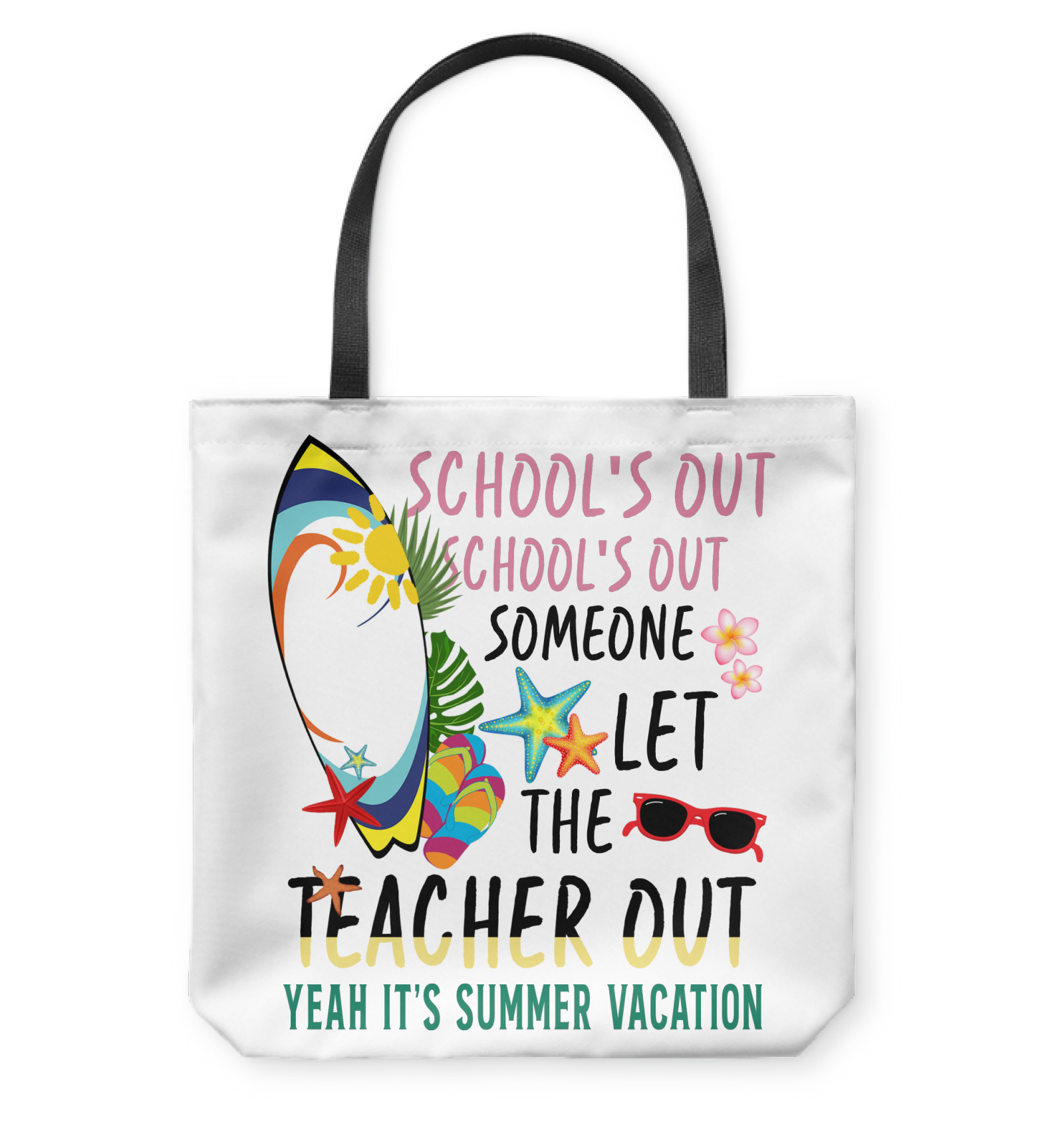 VIRA summer tote bag for awesome teachers