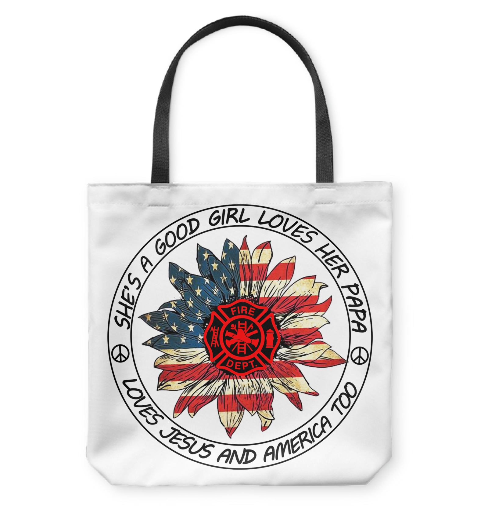 VIRA TOTE BAG FOR FIREFIGHTER PAPA